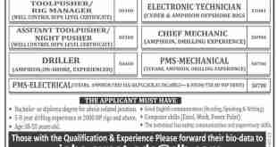 Arabian Drilling Company ADC Jobs 2019 Latest Advertisement, Email Address