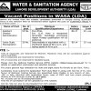 Water and Sanitation Agency LDA Lahore Jobs 2019 Advertisement Apply Application Form