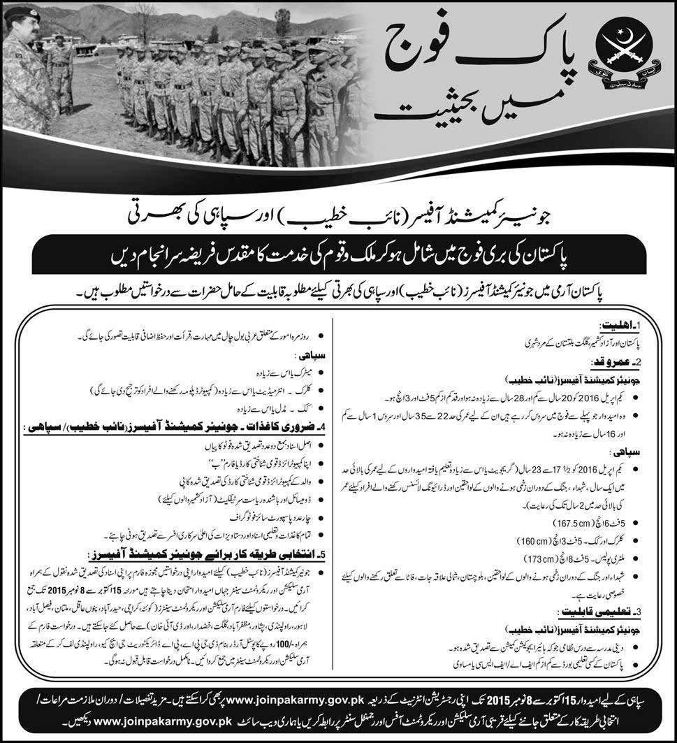 Pakistan Navy Soldier Jobs October 2015 Online