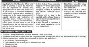 IESCO Jobs 2019 Islamabad Electric Supply Company Application form Download