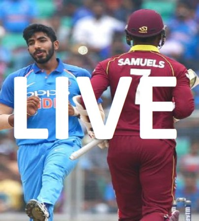 Live Cricket- India (IND) vs West Indies (WI) (1st Test