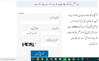 Ehsaas Chota Karobar Imdadi Package Labour Program Online Registration