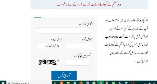 Ehsaas Chota Karobar Imdadi Package Labour Program Online Registration