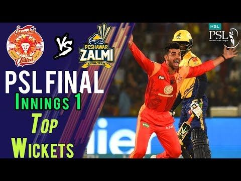 Top Wickets Innings 2 | Peshawar Zalmi Vs Islamabad United  | Final | 25 March | HBL PSL 2018