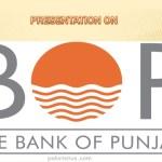 Bank of Punjab BOP Trainee Officers 2019