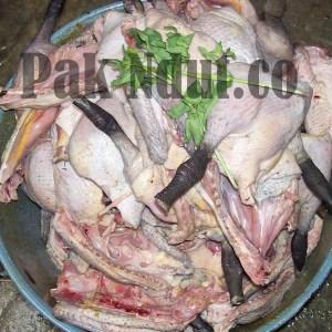 daging bebek goreng