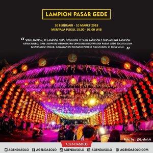 Festival Lampion Kota Solo