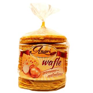 ANARI Wafle Serowo-Cebulowe 110g