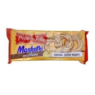 PRYNCY TEKA Maskotki ciastka maślane 136g Pakomarket