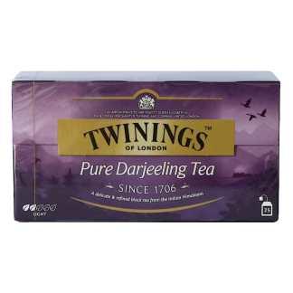 TWININGS Herbata Darjeeling 25 torebek Pakomarket