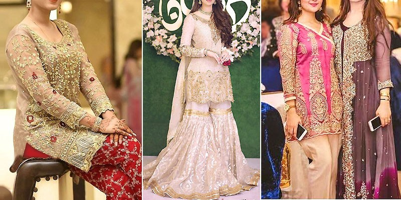 Latest Pakistani Wedding Party Dresses Collection 2020