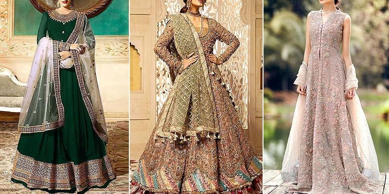 Latest Pakistani Maxi Dress Designs 2020 For Wedding Pakstyle