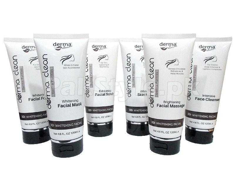 Derma Clean 3D Whitening Facial Kit Price In Pakistan