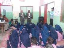 Bro Krzok Sharing Word of God at School