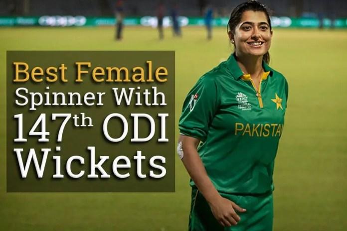 sana mir, wickets in ODIs, women cricket, ICC, pakistan