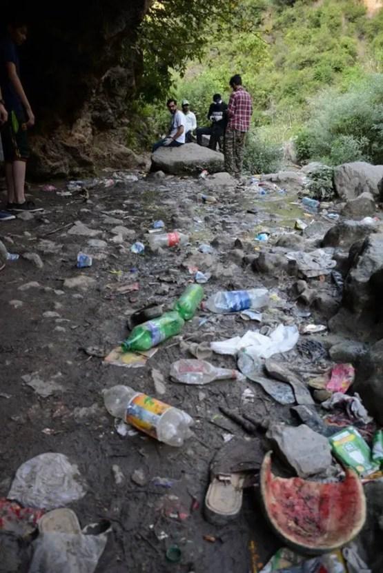 bruti waterfall, environment-friendly tourism