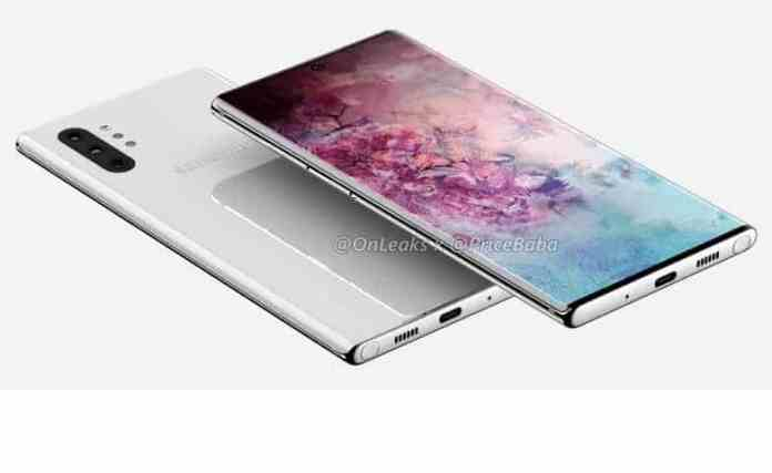 Galaxy Note 10, Note 10 pro