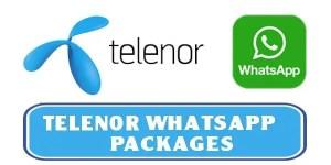 telenor whatsapp
