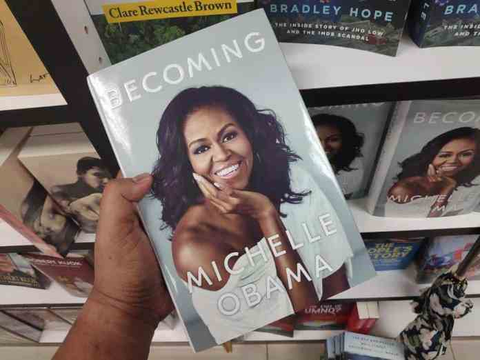 becoming, michelle obama, best books of all time, famous authors today