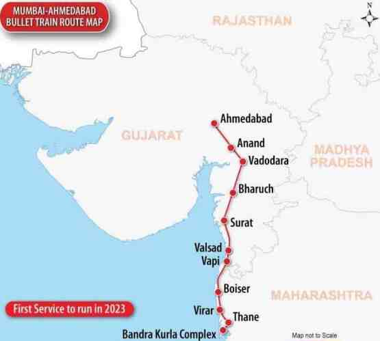 high speed train in india