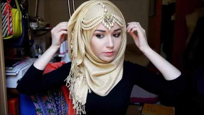 Face shape, fashionable hijab,