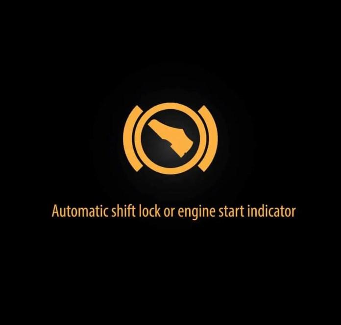 Automatic shift lock