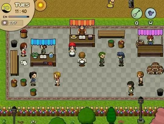 games like harvest moon, World's Dawn