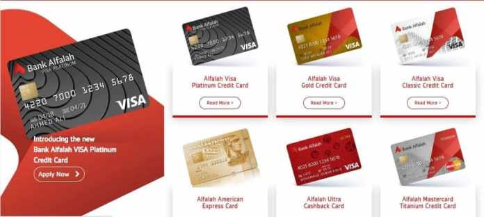bank alfalah credit card