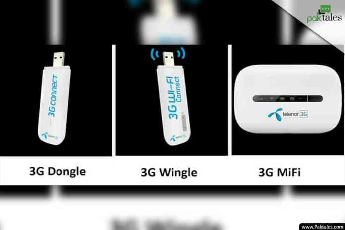 dongle internet packages