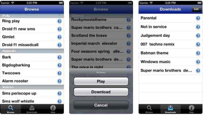 text tone iphone