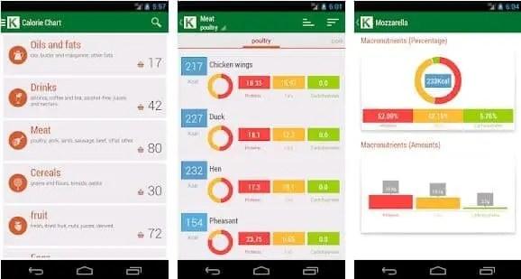 calorie counter app