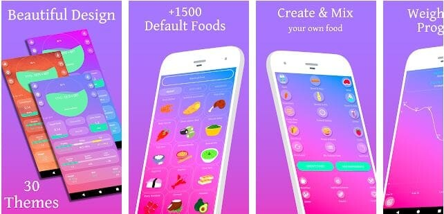 calorie counter app android , best android calorie counter