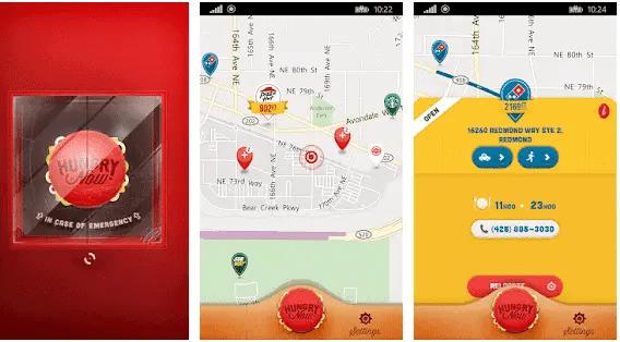 find fast food near me app