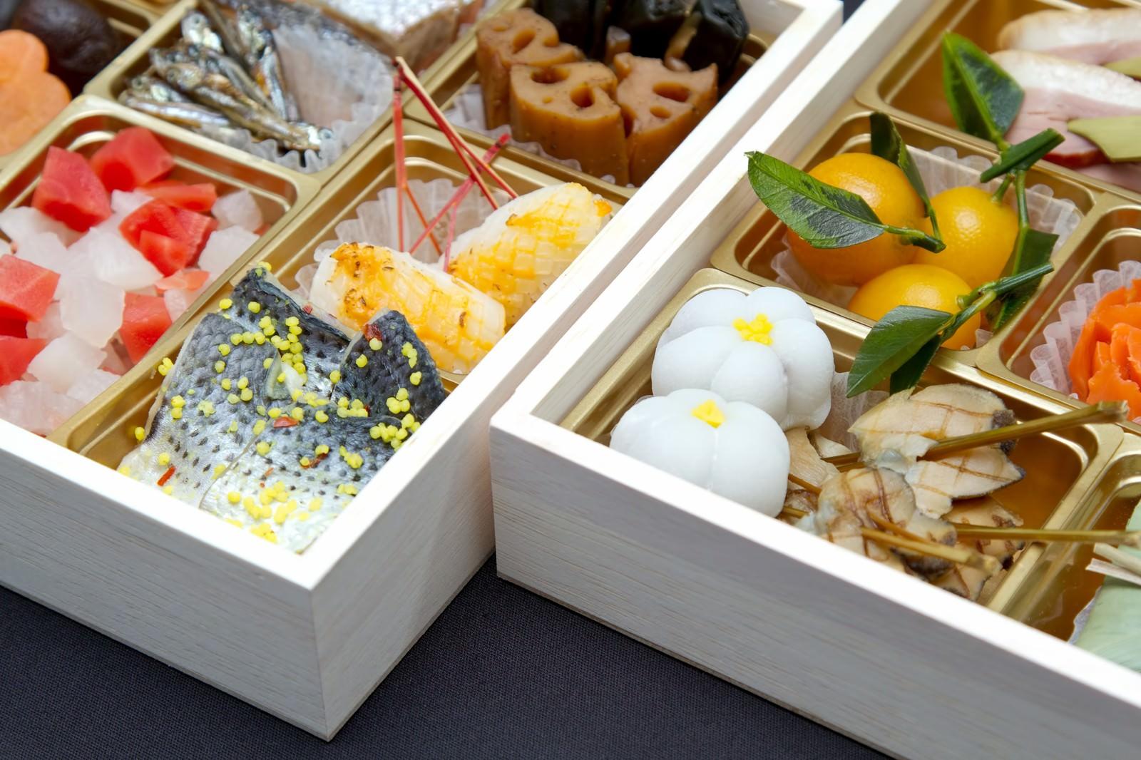 日本新年佳肴御节料理(Osechi)
