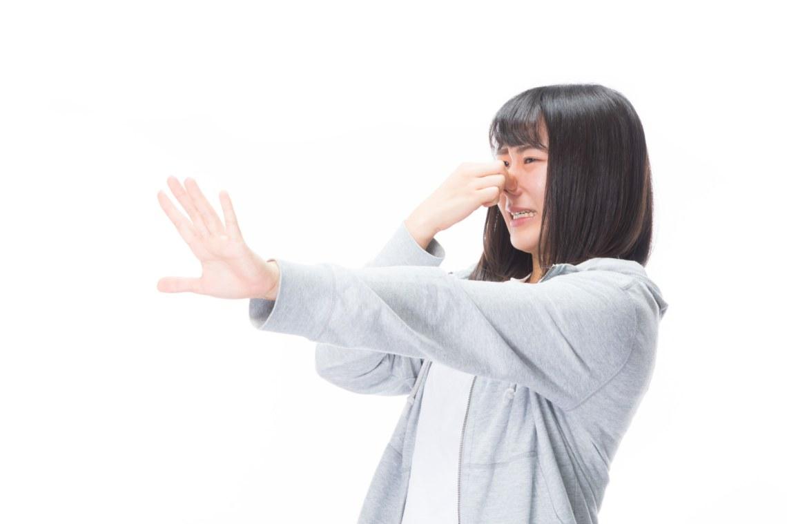 「キモいし生理的にムリだから近寄らないで!!」の写真[モデル:Mizuho]