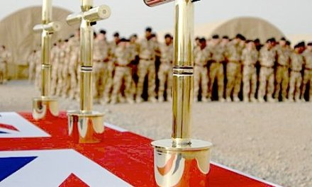 MAIN ALTAR AT CAMP BASTION