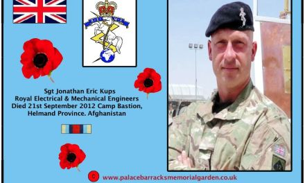 Sergeant Jonathan Eric Kups, of the Royal Electrical and Mechanical Engineers (REME)