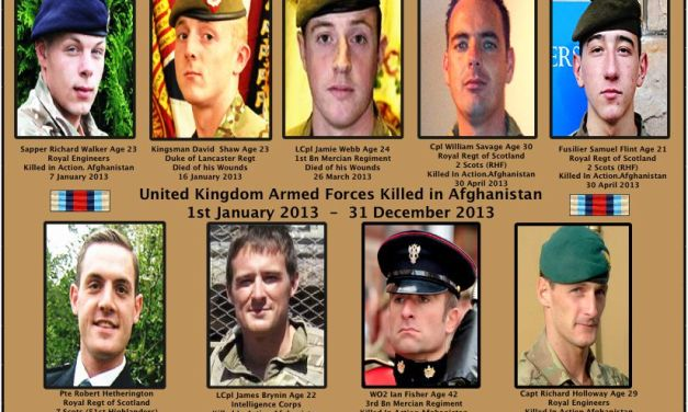PHOTOS OF TEN HEROES WHO LOST THEIR LIVES IN AFGHANISTAN & LONDON IN 2013