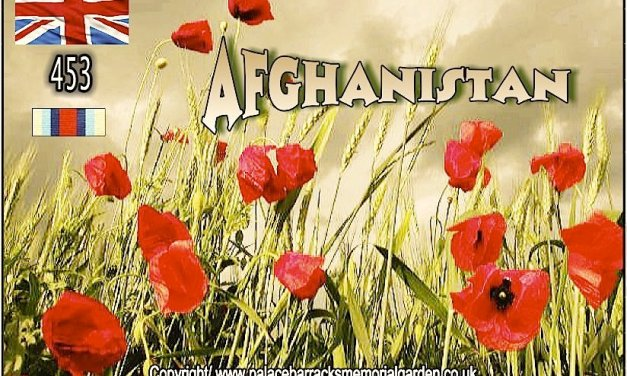 453 Men and Women of Our Armed Forces who lost their lives in Afghanistan