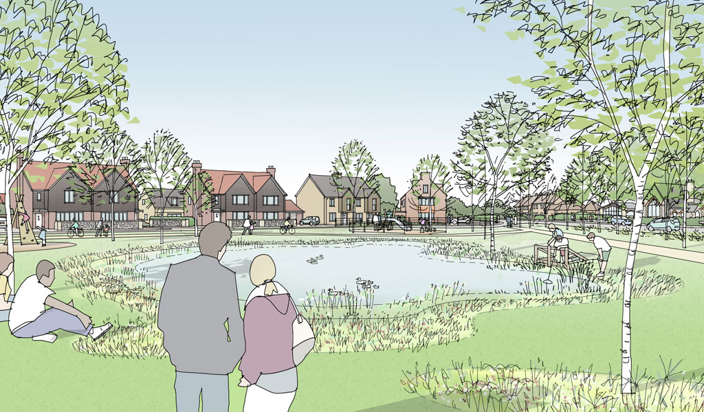 Plans for 500-home sustainable development in Kennett take the next step forward
