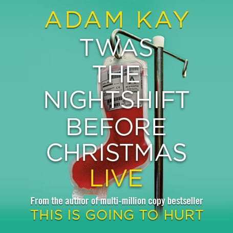 Adam Kay Twas the Nightshift Before Christmas at the Palace Theatre, London