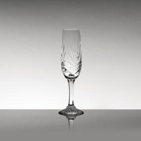 Set pahare sampanie din cristal Bohemia - Mystique 2