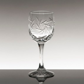 Set pahare vin alb din cristal Bohemia - Imperial NEW