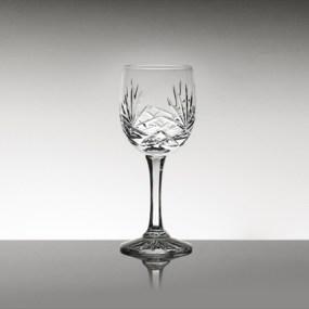 Set pahare vin alb din cristal Bohemia - Mystique 2