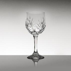Set pahare vin rosu din cristal Bohemia - Mystique 2