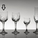Set pahare vin rosu din cristal Bohemia - Mystique