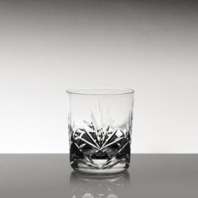 Set pahare whisky mici din cristal Bohemia - Mystique 2