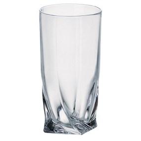 Pahare Cristal Bohemia pentru Suc - QUADRO