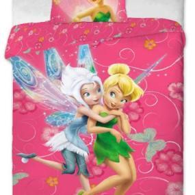 Lenjerie de pat copii bumbac Fairies Pinkie