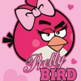 Prosoape pentru copii ANGRY BIRDS-PRETTY BIRD